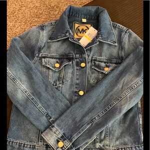 MICHAEL KORS Denim Jacket Color Riviera Blue (S/M)